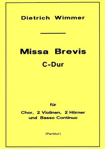Missa Brevis Titel