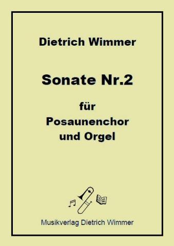 Posaunenchorsonate Nr.2 Titel